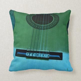 Aqua Guitar Cushion