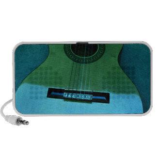 Aqua Guitar Laptop Speakers