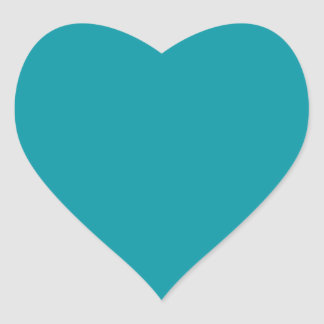 Aqua Heart Sticker