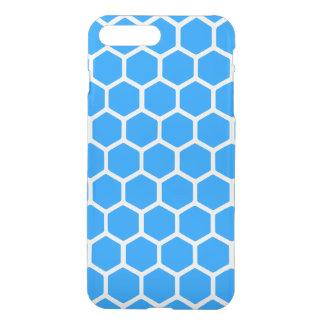 Aqua Hexagon 2 iPhone 7 Plus Case