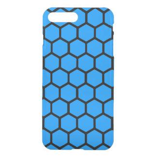 Aqua Hexagon 4 iPhone 7 Plus Case