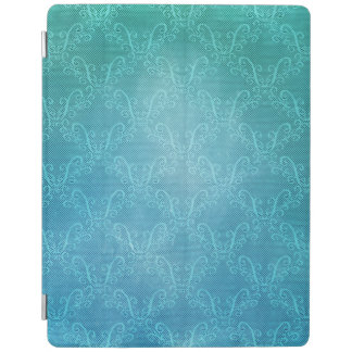 Aqua Lace iPad Cover