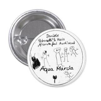 Aqua Marcia Button