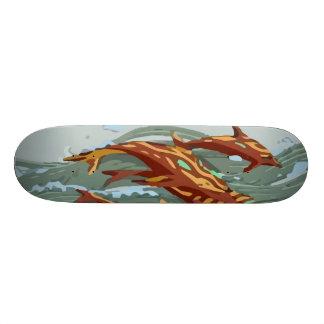 Aqua Marine Revenge 21.6 Cm Skateboard Deck
