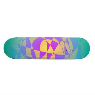 Aqua Melon Skate Board