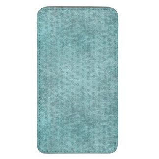Aqua Nubby Chenille Fabric Texture