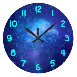 Aqua Numbers Galactic Center Clock
