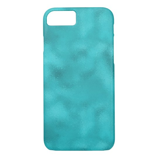 Aqua Ocean Abstract iPhone 8/7 Case