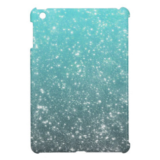 Aqua Ombre Glitter Case For The iPad Mini