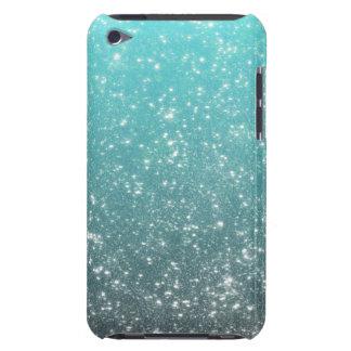 Aqua Ombre Glitter Case-Mate iPod Touch Case