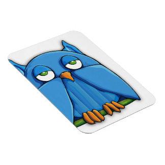 Aqua Owl Premium Magnet