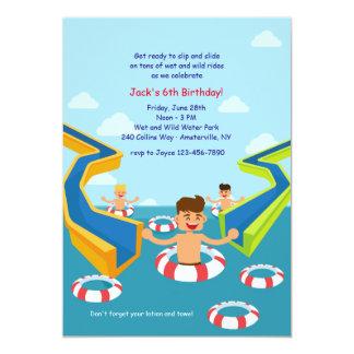 Aqua Park Invitation