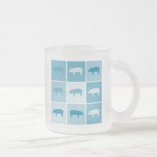 Aqua Piggies Coffee Mug