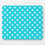 Aqua Polka Dot Pattern