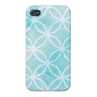 Aqua Rings iPhone Case Covers For iPhone 4