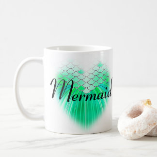 Aqua Scale Mermaid Mug