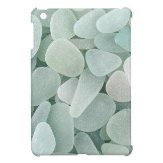 Aqua Sea Glass Cover For The iPad Mini