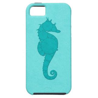 Aqua Seahorse Mosaic iPhone 5 Cover