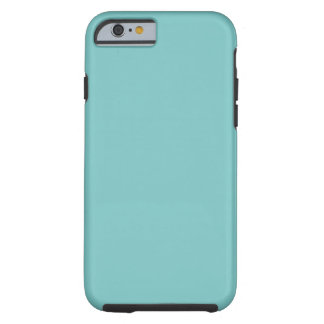 Aqua Sky Background. Elegant Fashion Colour Tough iPhone 6 Case