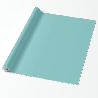 Aqua Sky Background Wrapping Paper