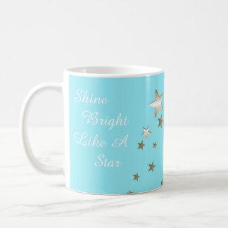 Aqua Star Coffee Mug