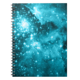 Aqua Stars Notebooks