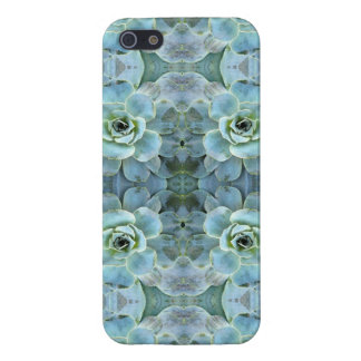 Aqua Succulents iPhone 5/5S Covers