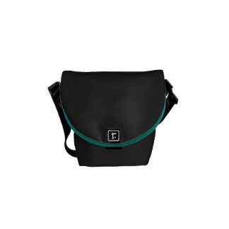 Aqua Sushi Inside Messenger Bag