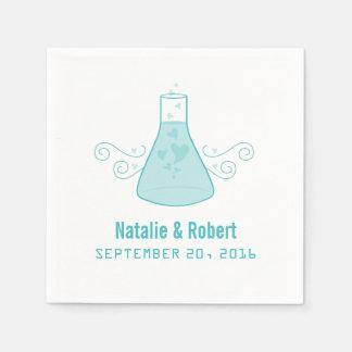 Aqua Sweet Chemistry Paper Napkins Disposable Napkin