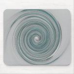 Aqua Swirl Mouse Pads