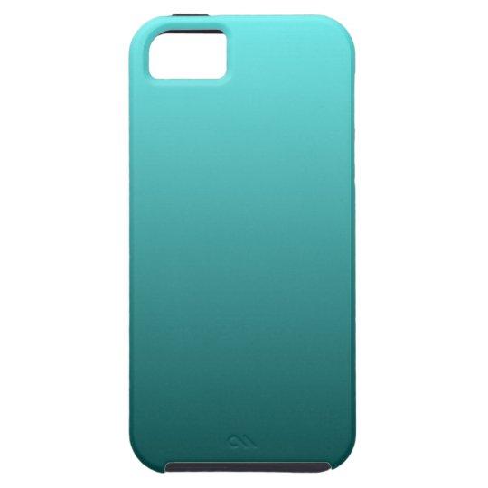 Aqua Teal Gradient iPhone 5 Cases