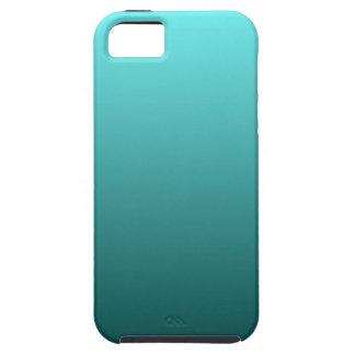 Aqua Teal Gradient iPhone 5 Cover