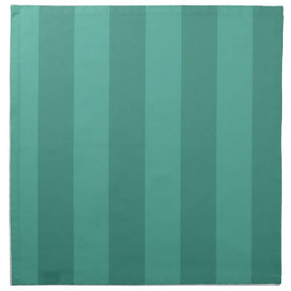 Aqua & Teal Stripes Napkin