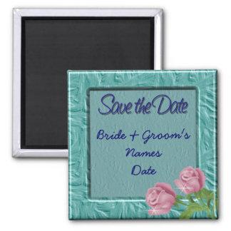 Aqua Teal Wedding Save The Date Magnet Magnets