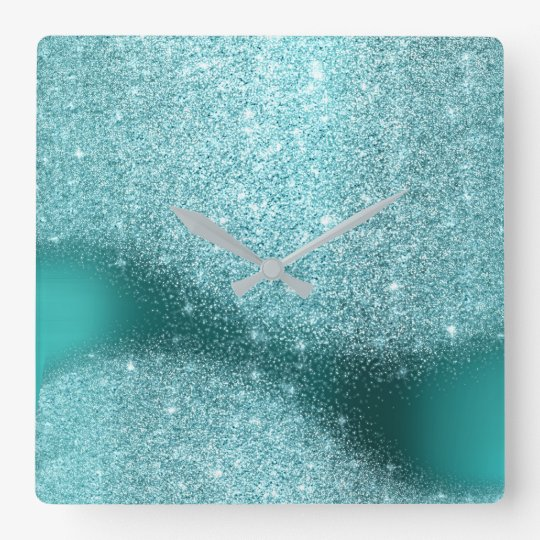 Aqua Tiffany Glitter Teal Metal Glass Gray Minimal