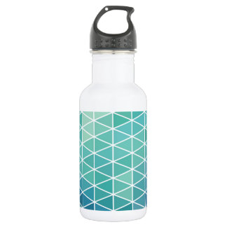 Aqua Triangle Geometric Design 532 Ml Water Bottle