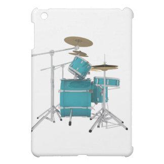 Aqua / Turquoise Drum Kit: Cover For The iPad Mini