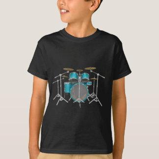 Aqua / Turquoise Drum Kit: T-Shirt