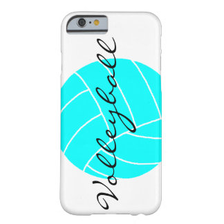 Aqua Volleyball iPhone Case [CUSTOMIZE IT!] Barely There iPhone 6 Case