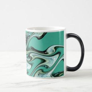 Aqua waves! magic mug