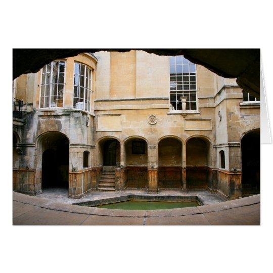 Aquae Sulis - Roman Baths Card