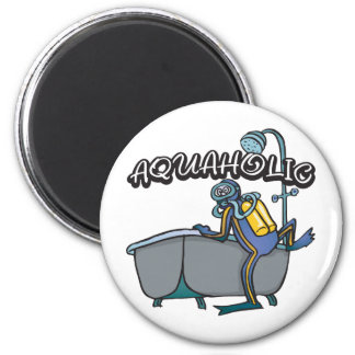 Aquaholic SCUBA Magnet