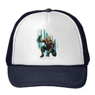 Aquaman Crouching Cap