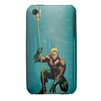 Aquaman Crouching Case-Mate iPhone 3 Case
