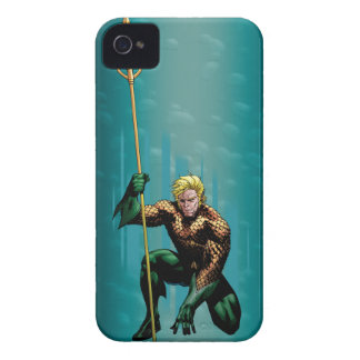 Aquaman Crouching iPhone 4 Case-Mate Case