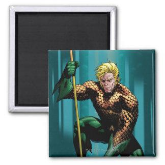 Aquaman Crouching Magnet