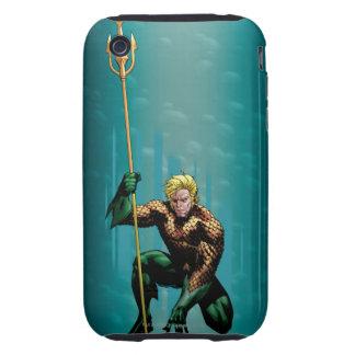 Aquaman Crouching Tough iPhone 3 Case