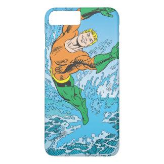 Aquaman Jumps Out of Sea iPhone 8 Plus/7 Plus Case