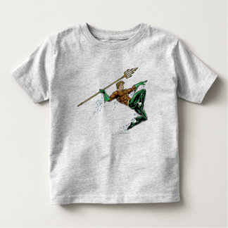 Aquaman Lunging with Spear Toddler T-Shirt