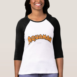 Aquaman Orange Logo T-Shirt